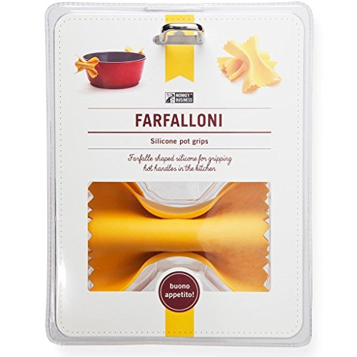 Monkey Business Farfalloni Presine, Silicone, Giallo,