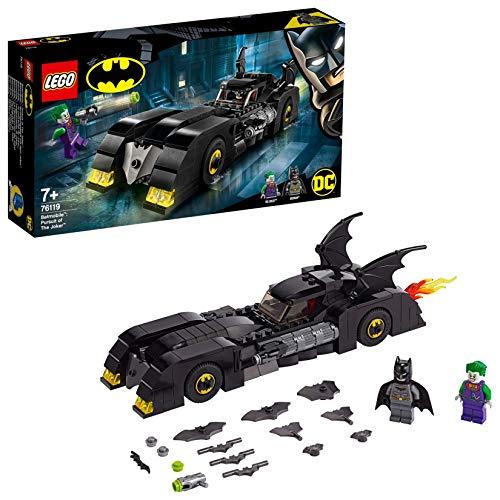 LEGO Super Heroes - Batmobile: La Persecución del Joker Juguete de construcción de Vehículo de Batman, Novedad 2019 (76119)