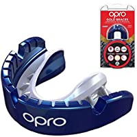 Opro Self-Fit Gold Mouthguard for Braces
