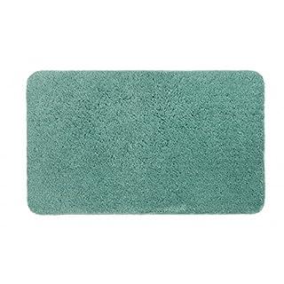 Schöner Wohnen Badteppich Badematte Santorin Uni Mintgrün in 3 Größen