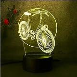Fushoulu Das Fahrrad Nachtlicht Für Kinder Baby Kid Atmosphäre Spielzeug LavaTouch 7 Farbe Licht Schlafzimmer Tischlampe Geschenk Schlaf Lampe