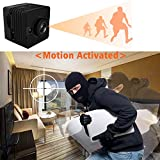 Minikamera - Bysameyee 1080P HD Mini Cam Action Kamera mit Nachtsicht Motion Detection, Wireless Mini DV DVR für Sicherheit / Sport
