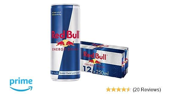 Red Bull Kühlschrank Gebraucht Kaufen : Red bull energy drink dosen getränke 12er palette einweg 12 x 250