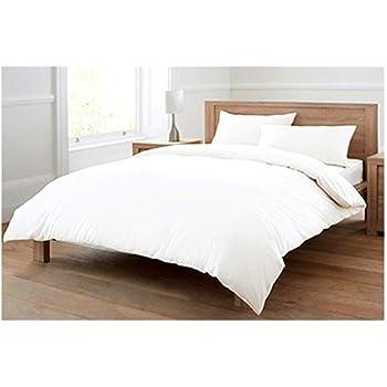 100 Pure Cotton Egyptian Cotton Plain White 4 Piece Complete