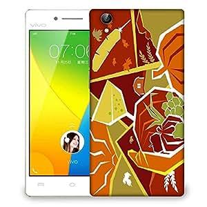 Snoogg Sunshine cocktail 2446 Designer Protective Back Case Cover For VIVO Y51 L