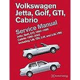 Volkswagen Jetta, Golf, GTI: 1993, 1994, 1995, 1996, 1997, 1998, 1999 Cabrio: 1995, 1996, 1997, 1998, 1999, 2000, 2001, 2002 (A3 Platform) Service Man (Service Manual)