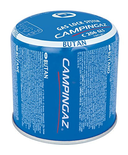 Campingaz C206 GLS - Cartucho De Gas Perforable, 190 gr
