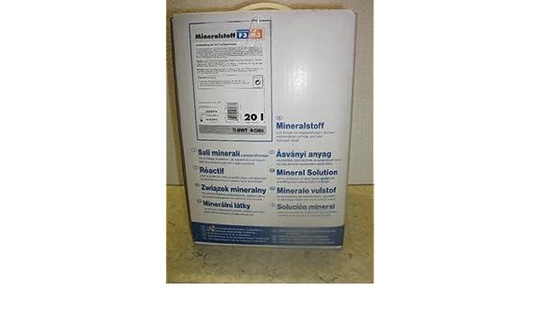 versch. H/ärtegrade H/ärtegrad F1//H1 BWT Dosiermittel Quantophos 20 Liter Beh/älter