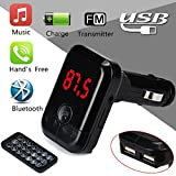 Auto Bluetooth MP3-Player MuSheng Dual USB Ladegerät Modulator Car Kit MP3-Player