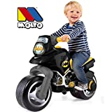 Rutsch Motorrad XXL im Batman Design mit breiten Reifen, dient als Lauflernhilfe für die Kleinen, 73 cm, für Innen und Außen, Lauflernrad Rutschfahrzeug fürs Gleichgewicht, XL Bike, ab 3 Jahren