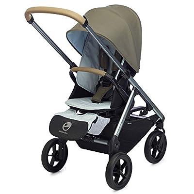Easywalker Mosey Plus único carrito de bebé, color gris azul