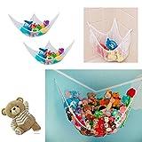 mymotto Hängematte für Kinder Kinderzimmer Netz Ordnung Spielzeug Aufbewahrung 130*90*90cm