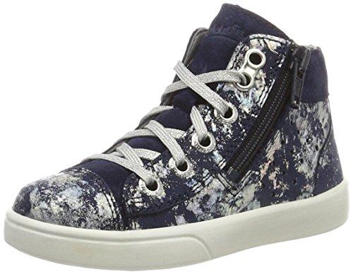 Superfit Marley Mädchen Hohe Sneakers Blau (Ocean Kombi 81)