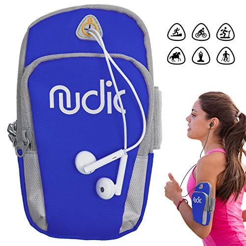 Nudic Aptitud corriendo banda brazo teléfonos inteligentes