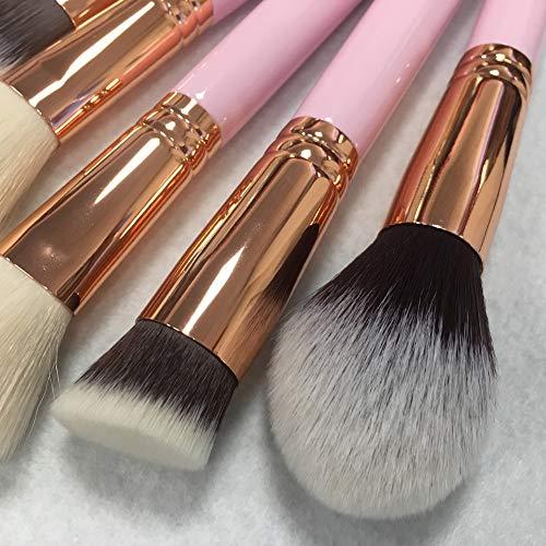 Myuig Pincel Maquillaje Pincel Contorno 15 Palos Tubo
