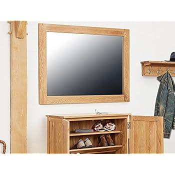 baumhaus mobel solid oak extra. Baumhaus Mobel Oak Wall Mirror Medium Solid Extra S