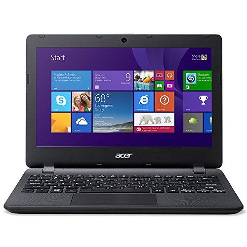 Acer-Aspire-ES1-111M-C8FQ-Porttil-de-116-Intel-Celeron-N2840-2-GB-de-RAM-Disco-eMMC-32-GB-SSD-Intel-HD-Graphics-Windows-81-negro-Teclado-QWERTY-Espaol