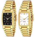 Best Golden Watches - Faas Full Golden Watch Black & Gold dial Review