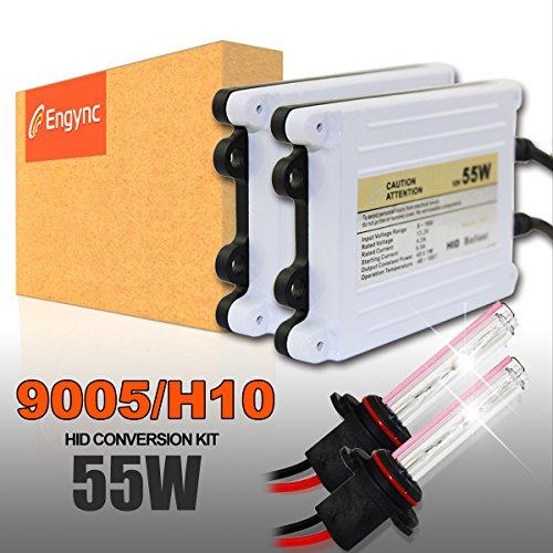 Preisvergleich Produktbild Engync ENG-5DS250F12A 55W AC HID Xenon Lampe Scheinwerfer Komponenten Conversion Kit mit Premium-Schlank Vorschaltgeräte,HB3, 12000K