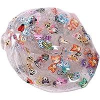 Preisvergleich für HK _ SSK flauschig schlamm Squishy Animal Cartoon Squishy Verpackung Royal BC Mud Jelly Transparent Spielzeug Weich schlamm duftende Stress Relief Spielzeug schlamm schlamm Spielzeug (5x 5x 6cm, Zufällige Farbe)