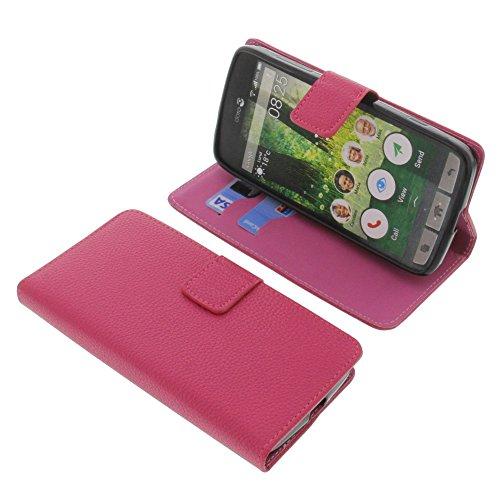 foto-kontor Tasche für Doro Liberto 825 Book Style pink Schutz Hülle Buch