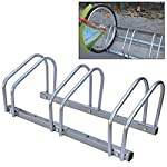 Fifth Gear® Floor/Wall Mounted 3 Bike Bicycle Cycle Rack Stand