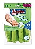 Spontex Comfort Deluxe Premium Handschuh (40 °C waschbar) Größe 7-7,5, 1 Paar