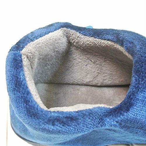 YMFIE Les hommes épaissir coton chaussons chaussures chaudes A