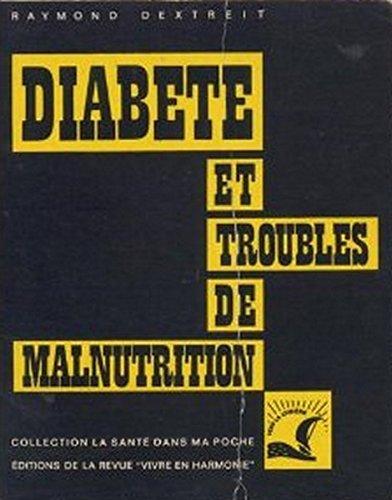 Diabète et troubles de malnutrition