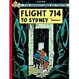TINTIN FLIGHT 714 20 TD: The Adventures of Tintin (Hb)