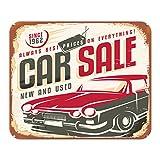 Mauspad Oldtimer Auto Autoverkauf Bedruckt