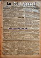 DERNIERE EDITION - VENDREDI 18 MAI 1888 - CONSEIL DES MINISTRES - L'EXERCICE FINANCIER - RETOUR DE M. CONSTANS - LES ILES SOUS-LE-VENT - DINER A L'AMBASSADE D+¡ESPAGNE - LA FRANCE A BARCELONE - LE CRIME DE JOIGNY - AVANT L'AUDIENCE - LES ACCUSES - AC...