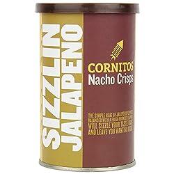Cornitos Nachos Crisps Round Can, Jalapeno, 50g