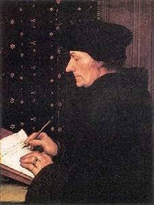 Portrait de Erasmus Poster - Hans Holbein