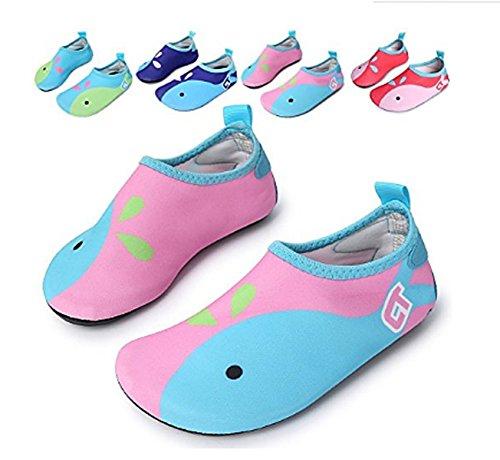 Sabe , Jungen Aquaschuhe Pink&Blue