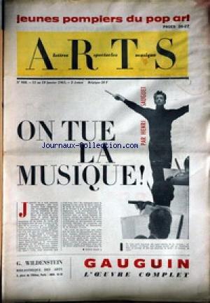 ARTS [No 988] du 13/01/1965