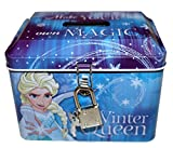 Disney Frozen Die Eiskönigin Spardose mit Schloss und Schlüssel Winter Queen