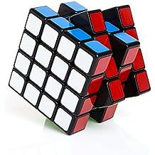 Buself Cubo Rompecabezas Cube 4X4X4 Negro Velocidad Puzzle