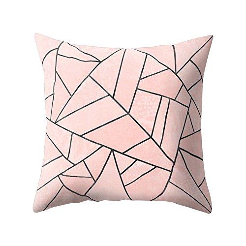 Harpily Home Dekor Office Sofa Geometrisches Design Square Wurf Deckel Gehäuse Pillowslip Cusion...