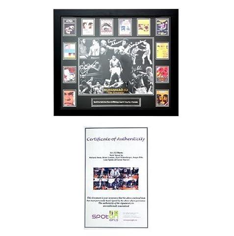 Certifié encadrée signé Sport/Movie Photos (Plusieurs Sports, films et événements à choisir.) tous les Livré avec certificat d'authenticité. Supporter, cadeau idéal pour tout Fan ou collectionneur., - Muhammed Ali, Sizes Vary