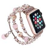 SEANADO Damen Apple Watch Armband 40/44mm f¨¹r iwatch Series 4/3/2/1