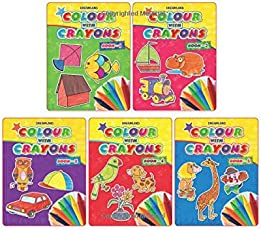 Colour with Crayons 1 to 5 (Pack)