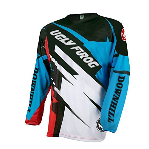 Uglyfrog V-collar Bike Wear Mens Downhill Jersey Rage MTB Cycling Top Cycle  Long Sleeve 4ffc45d38