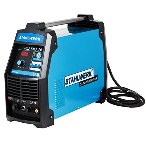HuSuper Plasma Schneider 70A Plasmaschneider Plasma CUT Inverter Schweißgerät Plasma Ausschnitt Maschine Plasmaschneider Cutting Cutter(70A)