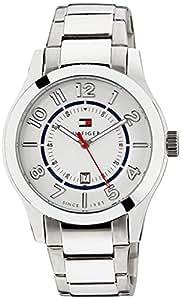Tommy Hilfiger Analog White Dial Men's Watch - TH1791026J