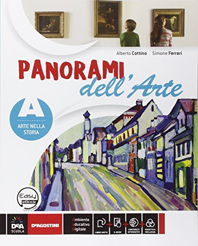 Panorami dell'arte. Vol. A-B-C. Per la Scuola media. Con DVD-ROM. Con e-book. Con espansione online