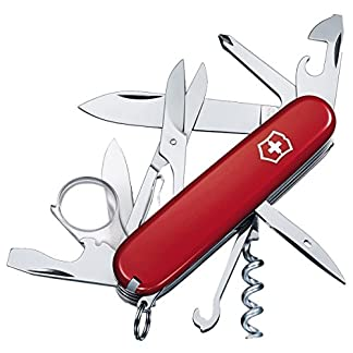 "Victorinox Unisex's 1670300"" Explorer Officer's Knife, Red, 1 6"