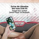 Sportstech Vibrationsplatte VP200 mit Bluetooth, innovativer Oszillationstechnologie für zu Hause, inkl. Poster + Trainingsbändern + Fernbedienung + Integrierter Lautsprecher im Vibrationsgerät - 5
