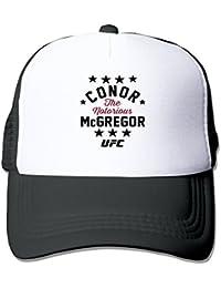 Azul eléctrico Conor McGregor negro 194Star gorras de béisbol Strapback–Sombreros, Negro