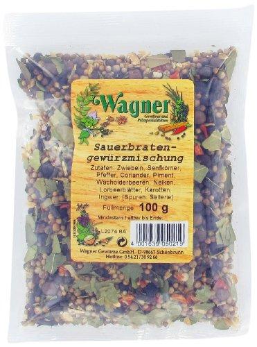 Wagner Gewürze Sauerbraten Gewürz, 6er Pack (6 x 100 g)